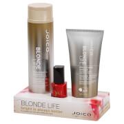 Joico Blonde Life and Nail Varnish Bundle (Worth £33.60)