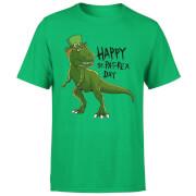Happy St Pat-Rex T-Shirt - Kelly Green