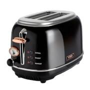 Tower T20016 2 Slice Toaster - Black/Rose Gold