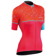 Northwave Women's Verve 3 Jersey - Orange/Pink