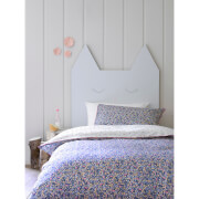 Christy Junior Ladybird Floral Duvet Set - Indigo
