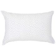 Christy Junior Speckles Jersey Pillowcase - Indigo