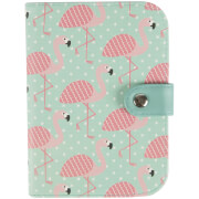 Sass & Belle Tropical Flamingo Passport Holder