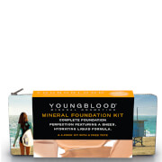 Youngblood Foundation Kit with California Bikini Bag - Liquid Golden Tan
