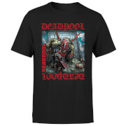 T-Shirt Homme Deadpool (Marvel) Here Lies Deadpool - Noir