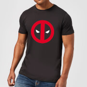 Marvel Deadpool Clean Logo T-Shirt - Black