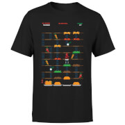 Marvel Deadpool Retro Game T-Shirt - Black