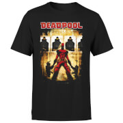 T-Shirt Homme Deadpool (Marvel) Cible - Noir
