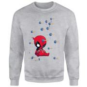 Sudadera Marvel Deadpool K.O. - Hombre - Gris