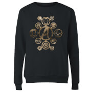 Marvel Avengers Infinity War Icon Women's Sweatshirt - Black
