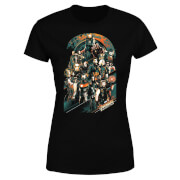 Marvel Avengers Infinity War Team Dames T-shirt - Zwart