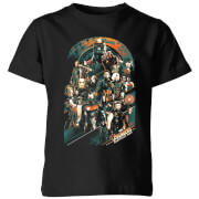 Marvel Avengers Infinity War Avengers Team Kids' T-Shirt - Black