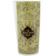 Harry Potter Marauder's Map Water Glass