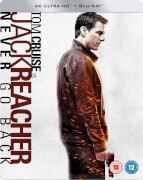Jack Reacher: Never Go Back - 4K Ultra HD - Steelbook Exclusif Limité pour Zavvi