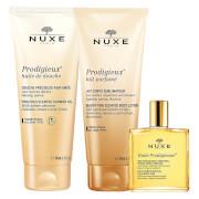 NUXE Exclusive Prodigieux Treasures Set (Worth £50.00)