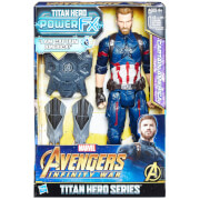 Hasbro Marvel Avengers Infinity War Titan Heroes Power FX Captain America Action Figure