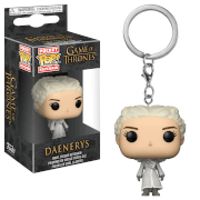 Game of Thrones Daenerys White Coat Funko Pop! Vinyl Keychain