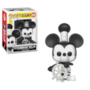 Disney 90 ° Anniversario Topolino Steamboat Willie Figura Pop! Vinyl