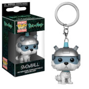 Rick and Morty Snowball Pop! Vinyl Keychain