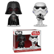 Star Wars Empire Strikes Back Darth Vader and Stormtrooper Vynl.