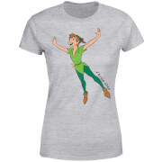 Disney Peter Pan Flying Women's T-Shirt - Grey
