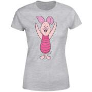 Disney Pu der Bär Ferkel Classic Damen T-Shirt - Grau
