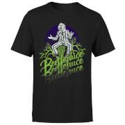 Beetlejuice Faded T-Shirt - Schwarz