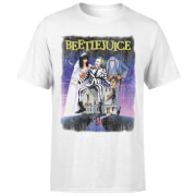 T-Shirt Homme Affiche Abîmée Beetlejuice - Blanc