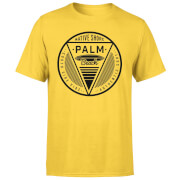Camiseta Native Shore Palm Beach - Hombre - Amarillo