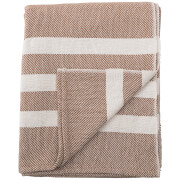 Bloomingville Cotton Throw - Brown