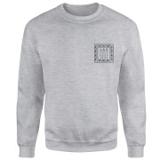 Sweat Homme LAX Free Surf Native Shore - Gris