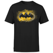 DC Comics Batman Spray Logo T-Shirt - Black