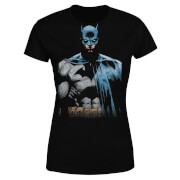 DC Comics Batman Close Up Women's T-Shirt - Black