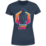 Ready Player One Gunter Life Dames T-shirt - Navy