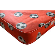 Kidsaw Football Single Mattress Red