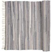 Broste Copenhagen Chindi Cotton Rug - Drizzle Melange - 60cm x 90cm