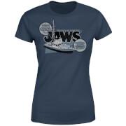 T-Shirt Femme Les Dents de la mer - Orca 75 - Bleu Marine
