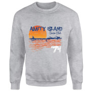 Jaws Amity Swim Club Sweatshirt - Grey