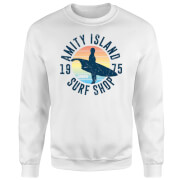 Jaws Amity Surf Shop Sweatshirt - White