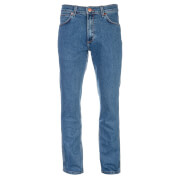 Wrangler Men's Greensboro Modern Regular Straight Leg Jeans - Midstone