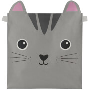 Sass & Belle Nori Cat Kawaii Friends Storage Basket