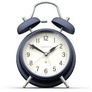 Newgate Brick Lane Silent Alarm Clock - Navy