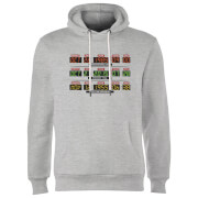 Back To The Future Destination Clock Hoodie - Grey