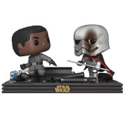 Figurine Pop! Movie Moment Finn VS Captain Phasma - Star Wars Les Derniers Jedi