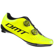 DMT R1 Cycling Shoes - Yellow Fluro/Black