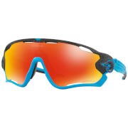 Oakley Jawbreaker Sunglasses - Aero Grid Grey/Prizm Ruby