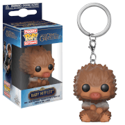 Llavero Pocket Pop! Escarbato Bebé (Bronceado) - Animales Fantásticos Y Dónde Encontrarlos