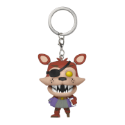 Five Nights at Freddy's Pizzeria Simulator Rockstar Foxy Pop! Keychain