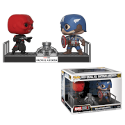 Marvel Captain America and Red Skull Funko Pop! Movie Moment
