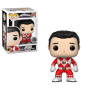 Power Rangers Red Ranger Jason Funko Pop! Vinyl
